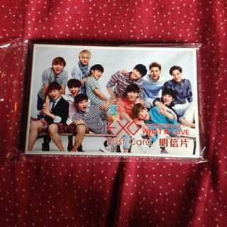 EXO UNOFFICIAL POST CARD