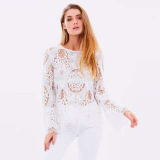 Living Doll Lace Top