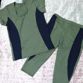 Workout Clothes Spandex Set