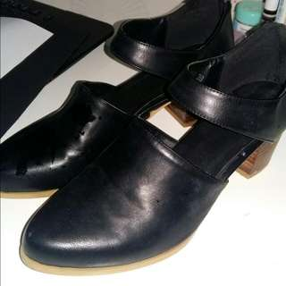 Mid Low Heels Zalora Black 38