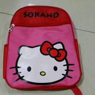 Hello Kitty Children School Bag