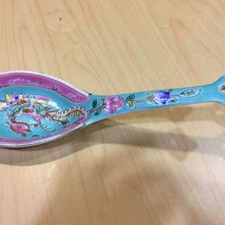 Vintage Peranakan Spoon