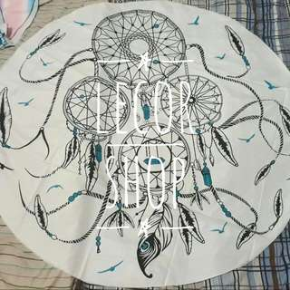 Dream Catcher Beach Mat/mandala