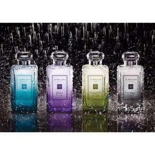 《里翁義趣購》🇬🇧 Jo Malone 倫敦雨系列~Wisteria & Violet 紫藤與紫羅蘭 100ml