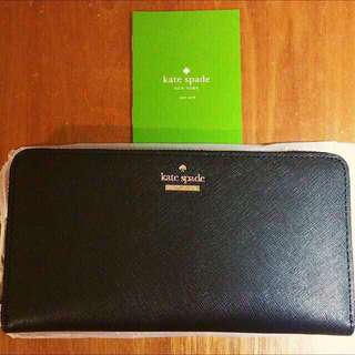 New and Authentic (BNWT) Kate Spade Cameron Street Lacey Wallet in Black