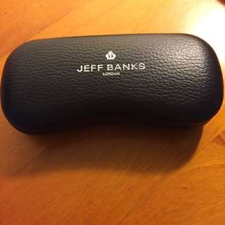 Black Pleather Case Jeff Banks