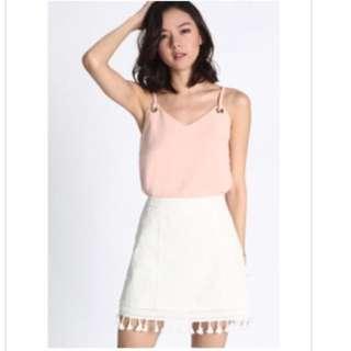 Lb Zevita tassel Trim Skirt