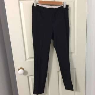 Laura Ashley Black Wool Blend Pants