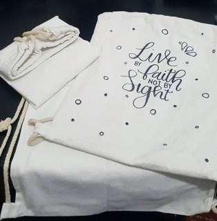Canvass bag (white)