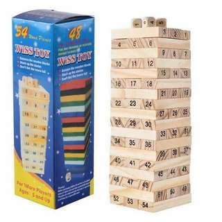 Wiss Toys Wooden Tower