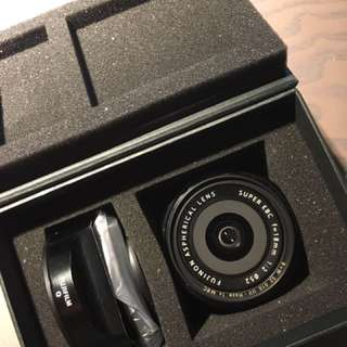 fuji XF 18mm f2 R