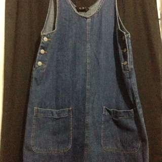 Dungarees Dress/baju Kodok