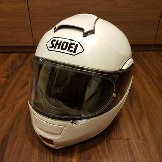 Shoei Neotec Helmet (L Size) Pearl White