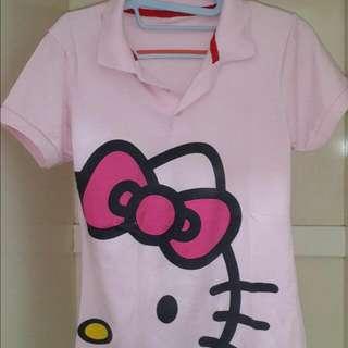 Kaos Polo Kitty
