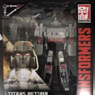 Titans Return Doomshot & Megatron