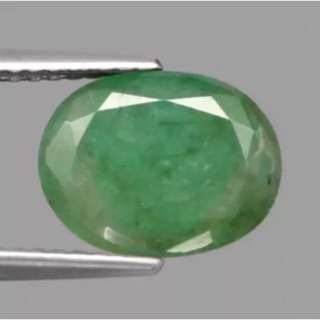 2.36ct Natural Emerald Oval 10.5 X 8mm