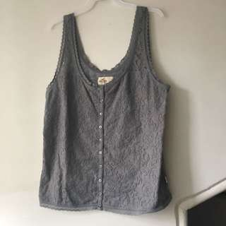 Lace Hollister Tank