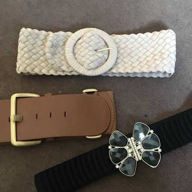 3 Belts Women's