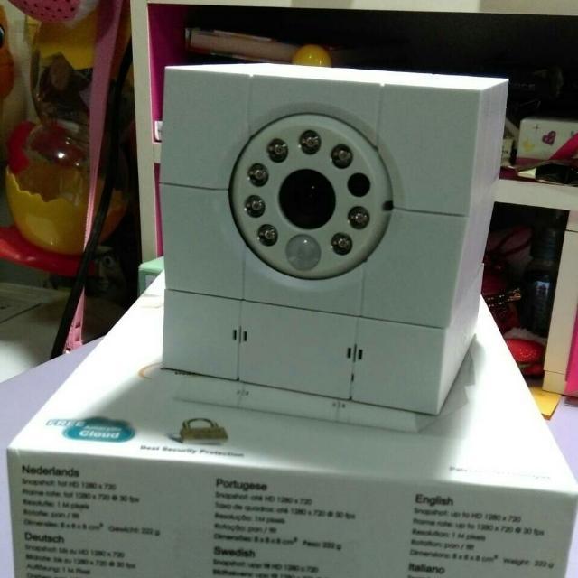 全新無線網路智慧遠端攝影機