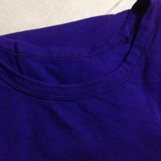 紫紫長袖上衣