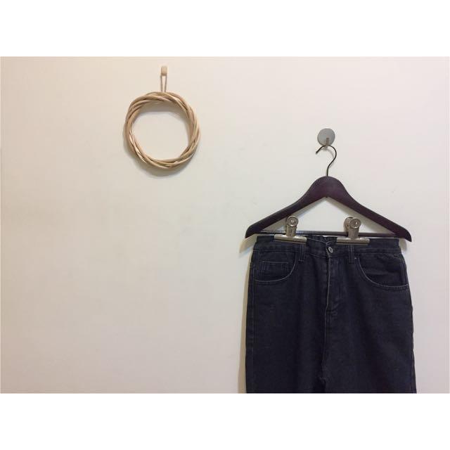 直筒牛仔褲M