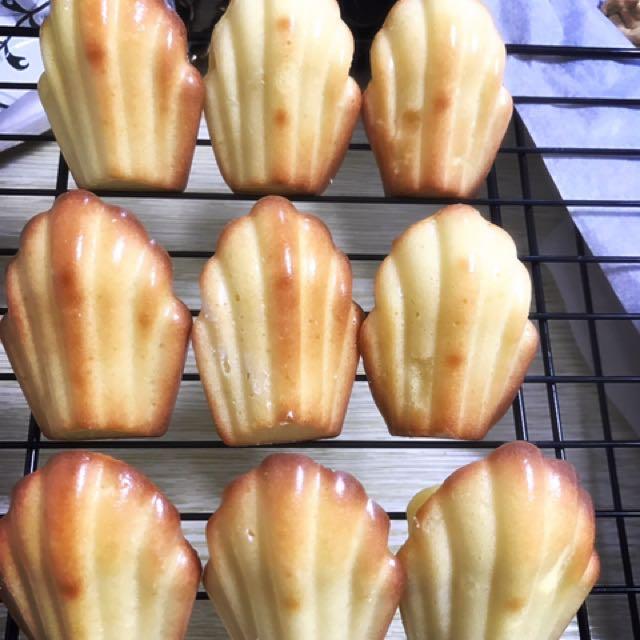 瑪德蓮 貝殼蛋糕