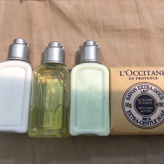 歐舒丹 Loccitane 旅行組 乳油木