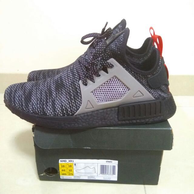 promo code a32eb 15c8e Adidas NMD XR1 JD Sports Black Boost / Grey US 10.5