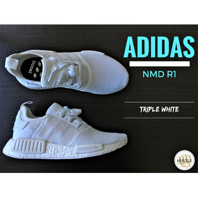 Adidas Originals NMD R1 (TRIPLE WHITE)