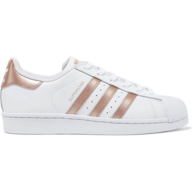 Adidas Rose Gold Superstars