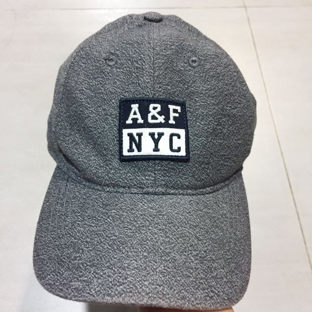A&F灰色棒球帽