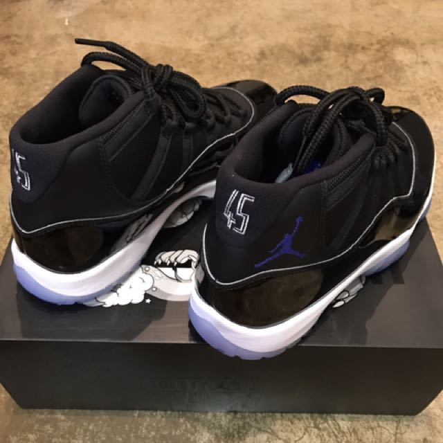 new arrival 87305 b8920 Air Jordan 11 Retro Space Jam, Men s Fashion, Footwear on Carousell