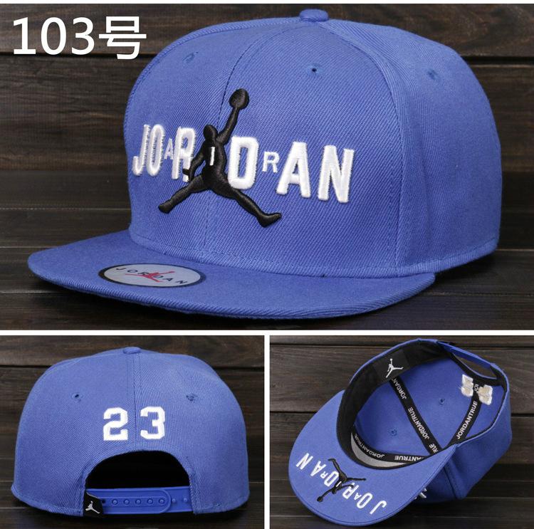 5e73f5b164079 Air Jordan Snapback Cap  Blue