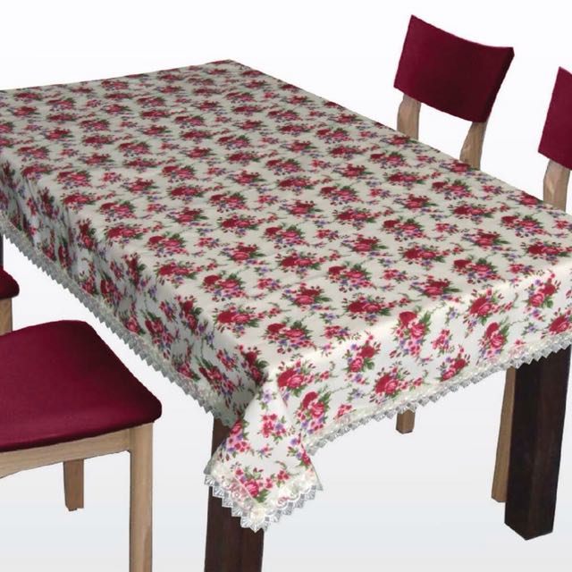 Alas Meja Table Cloth Ala Inggeris