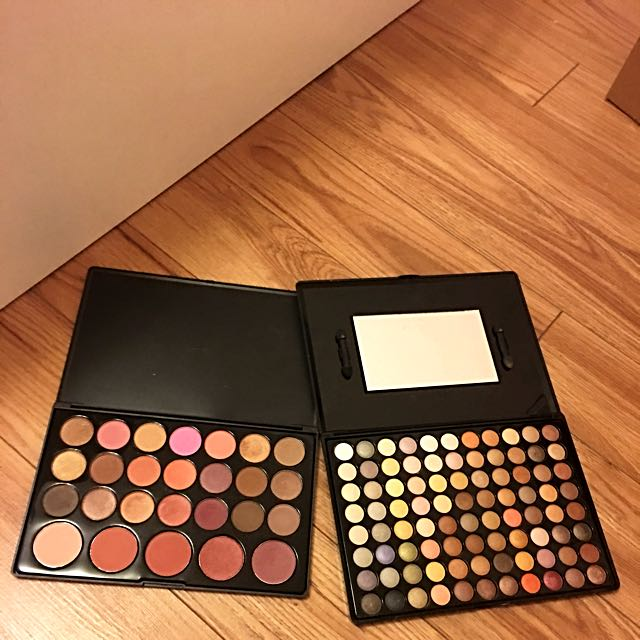 ⭐️ALL FOR $25⭐️BH Cosmetics Eyeshadow, Contour and Blush Palette Set