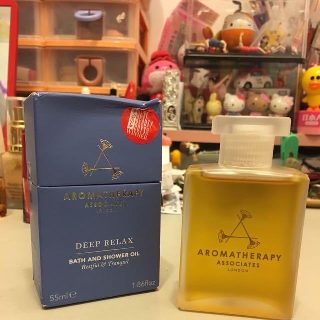Aromatherapy Associates 晚間舒緩沐浴油
