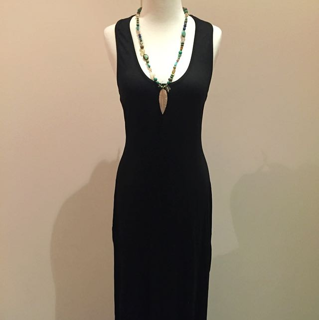 Atmos & Here Racer Back Maxi Dress 👗 Size 10