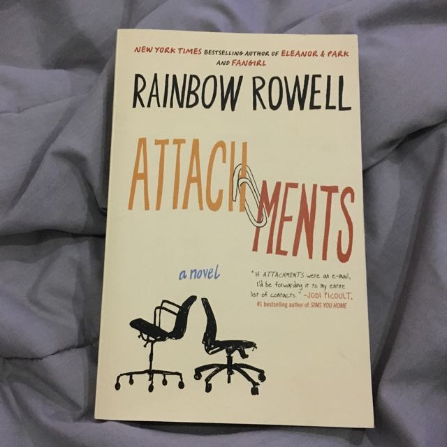 Attachments Rainbow Rowell