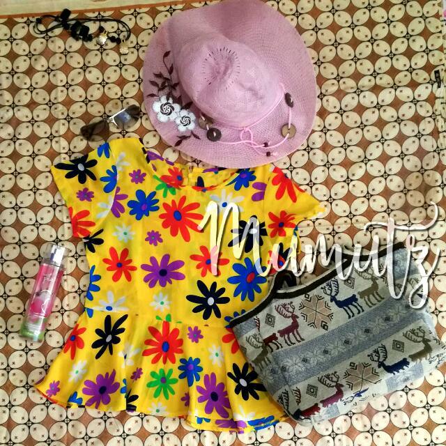 blouse peplum vintage