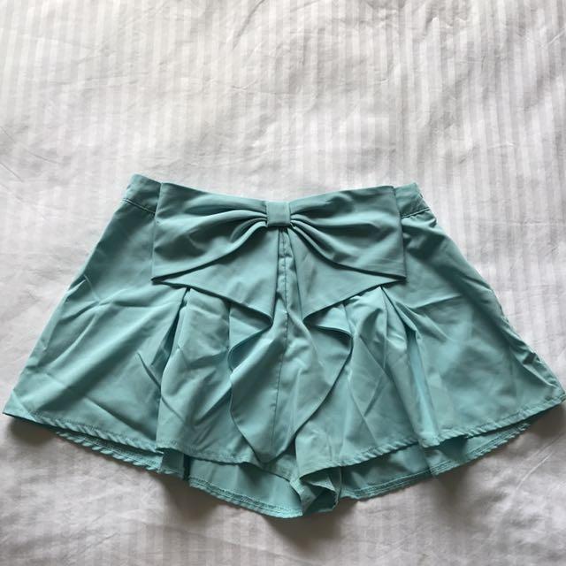 Blue Fashion Shorts