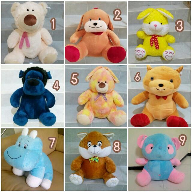 Boneka Karakter Hippo d6ce3fe100