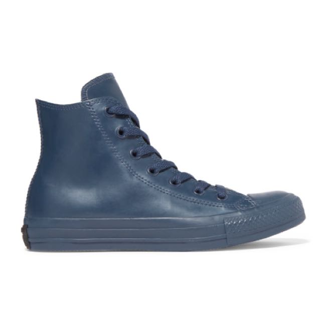 Brand New Converse Navy Chuck Taylor Rubber High Top Sneakers