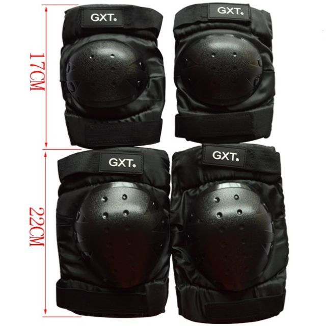 Brand New Elbow and Knee Guards Suitable for 155cm - 180cm, 48-90kg