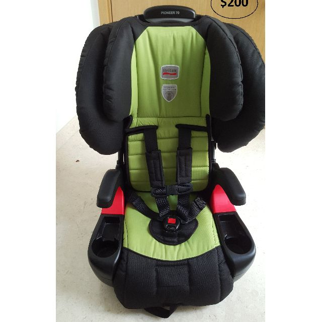 Britax Pioneer Carseat Harness And Booster 11kg 50kg