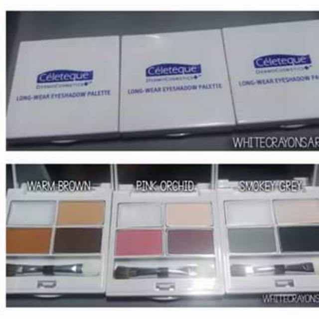 Celeteque Dermocosmetics Long-Wear Eyeshadow Palette