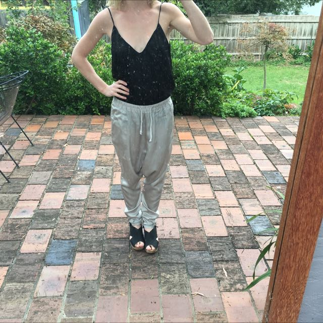 Claude Maus Silk Trousers