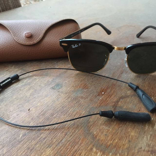Clubmaster Classic Polarized Ray-Ban Sunglasses