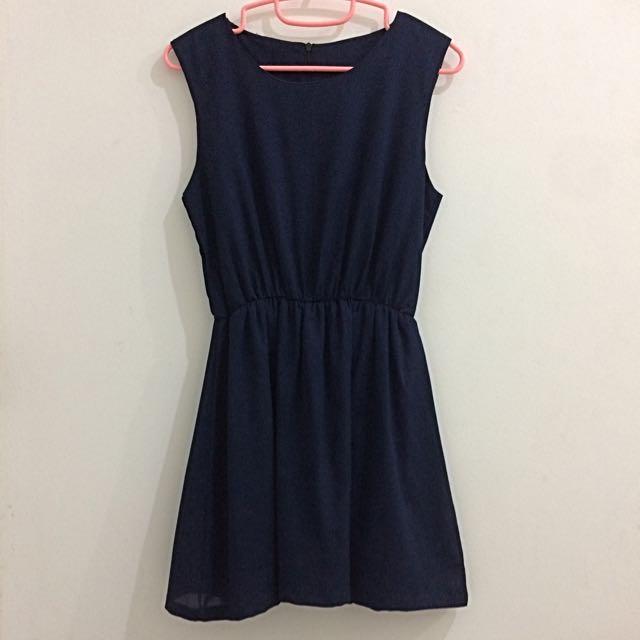 Colour Bar- Navy Dress