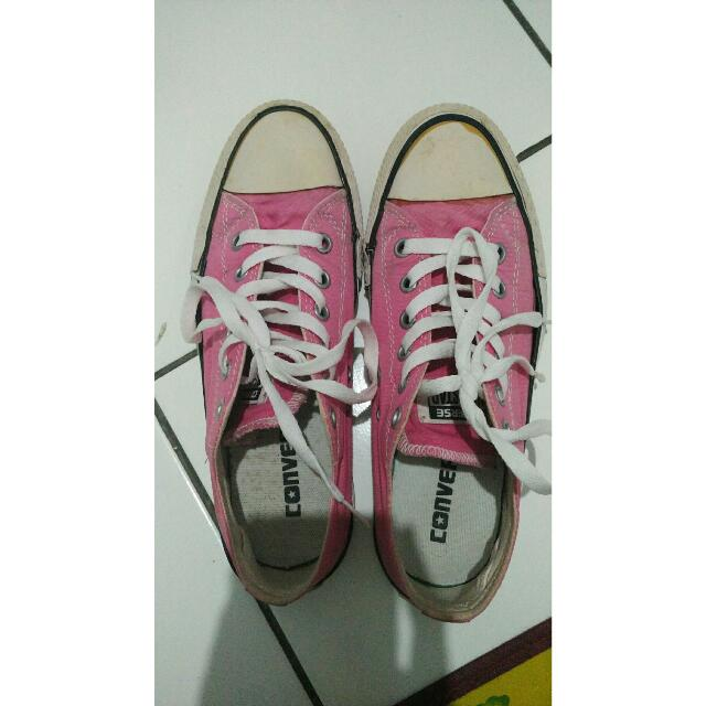 Converse Classic (Low Pink)