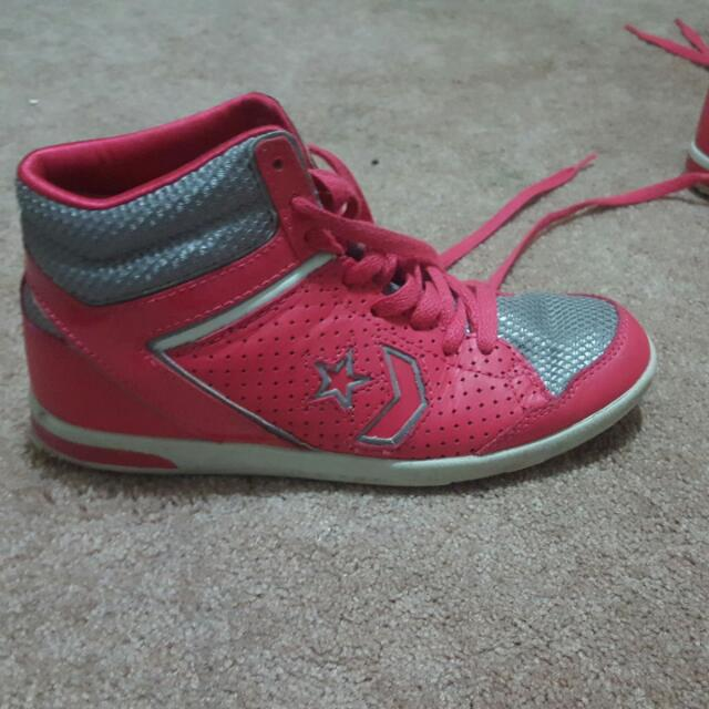 Converse High Top Basket Ball Shoes